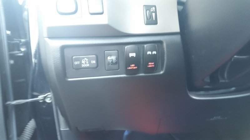 Hid Parking Lot Lighting Dash Switches - 2nd And 3rd Gen Tundra | Toyota Tundra Forum