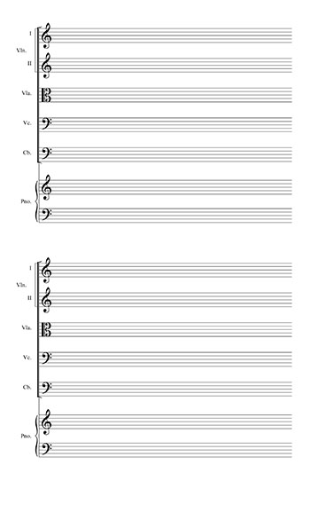 blank sheet music piano - Pinephandshakeapp - blank sheet of paper with lines
