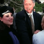 President Clinton with Monica Lewinsky