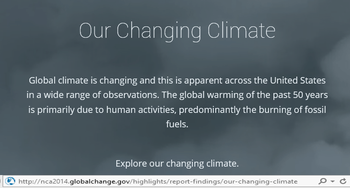 Have you seen the lastest research on global warming?