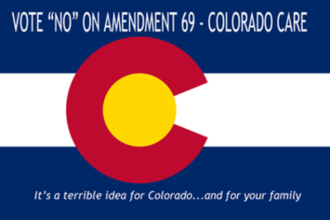 Flag of Colorado Vote No small