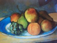 'Fruit Bowl' by Paul Cezanne