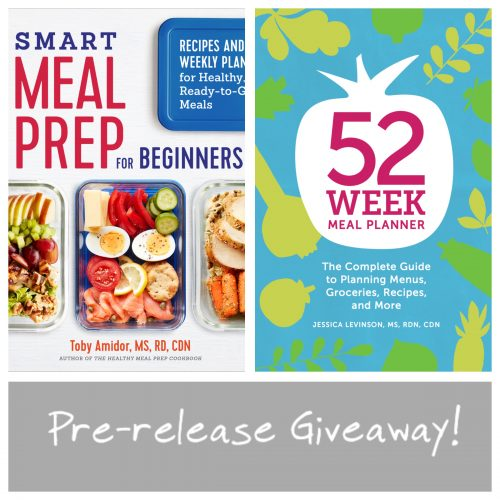 Giveaway Win A Copy of Smart Meal Prep for Beginners  52-Week Meal - weekly healthy meal plan