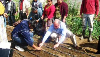U.S. Ambassadors Cousin, Chacón visit Borlaug Institute program site in Guatemala