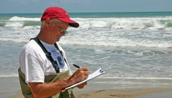 First responders training for red tide detection