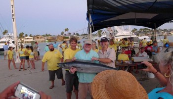 Training set for fishing tournament weighmasters