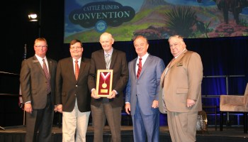 Graham receives Texas A&M AgriLife Distinguished Texan in Agriculture Award