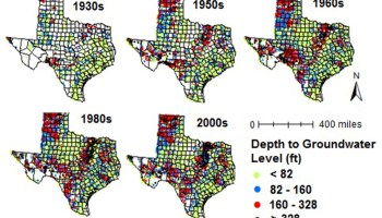 AgriLife Research study identifies contributing factors to groundwater table declines