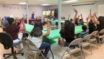 Fear of hunger grips kids at summer meals program in South Texas