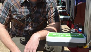 AgriLife Research remote sensing technology aims to solve critical crop diseases