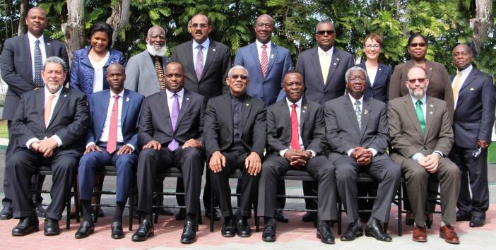 CARICOM Heads - Official photo