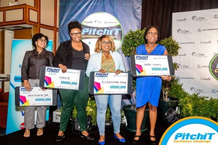 Talented Caribbean women who code (Photo via InfoDev)