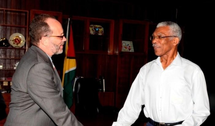 Guyana - Pres meets sg3