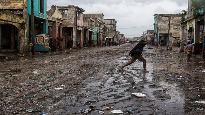 A street in Port-au-Prince, Haiti, after Hurricane Mathew.  (UN Photo/Logan Abassi)