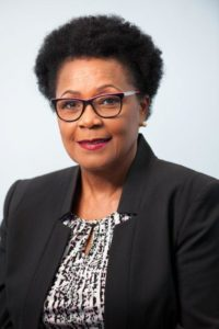 Chief Executive of LIAT, Julie Reifer-Jones (Photo via St. Lucia News Online)