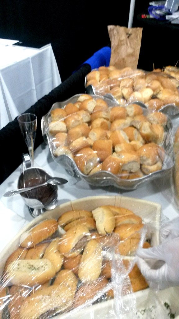 Blended cassava rolls were a hit at the Caribbean Week of Agriculture in the Cayman Islands in 2016