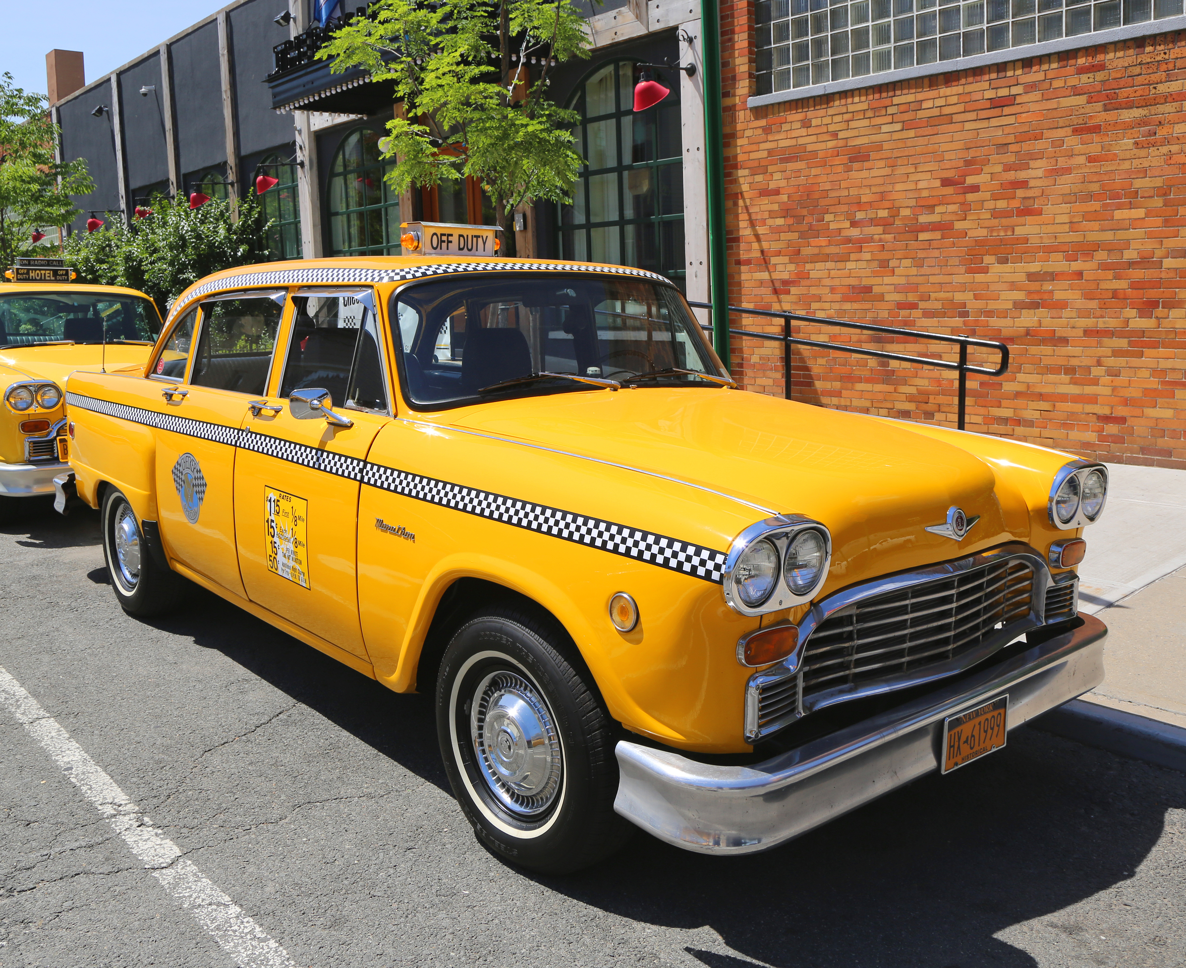 Le Cab Taxi Dustbin Of History The Checker Cab