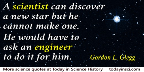 Science And Engineering Quotes 16 Quotes On Science And