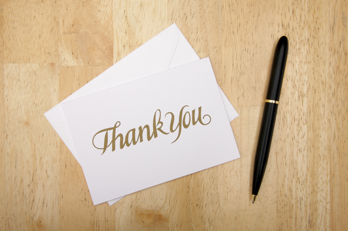 Tips for Writing Thank You Notes Today\u0027s Bride