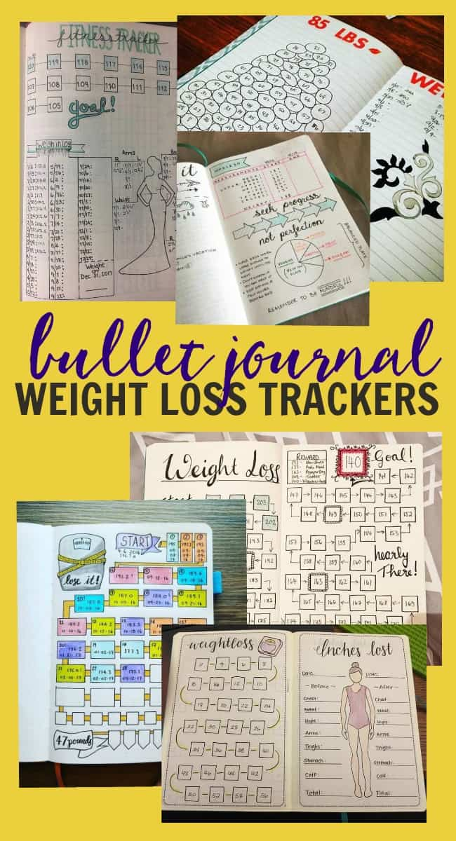 Bullet Journal Method - Weight Loss Tracker Ideas  How to Use