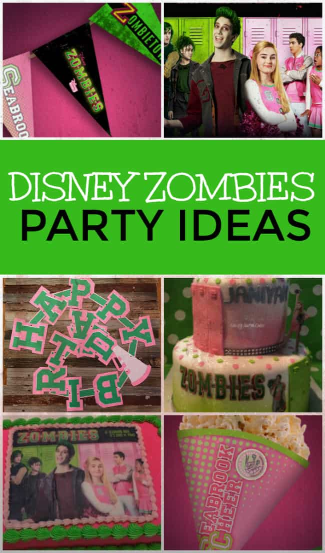 Disney Zombies Party Ideas and Supplies Today\u0027s Creative Ideas