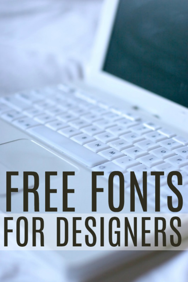 Free Fonts for Designers - Best Fonts for Stunning Projects!