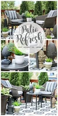 Easy Patio Decorating Ideas | Today's Creative Life