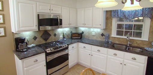 Kitchen Cabinet Stick On Wallpaper 1960s Kitchen Remodeling Update Project | Today's Homeowner