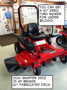 Snapper 550z