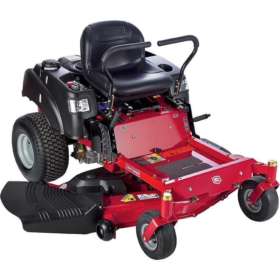 Zero Turn Garden Tractor : Craftsman inch model zero turn riding mower