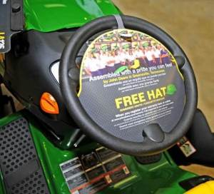 "Every lawn tractor manufactured at the local John Deere Power Products plant now advertises that it has been ""assembled with a pride you can feel by John Deere in Greeneville, Tennessee."""