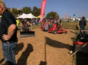 Gravely 2-wheel tractor