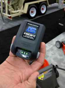 Husqvarna/Briggs & Stratton Lithium Electric Start. With battery meter and quick charge technology
