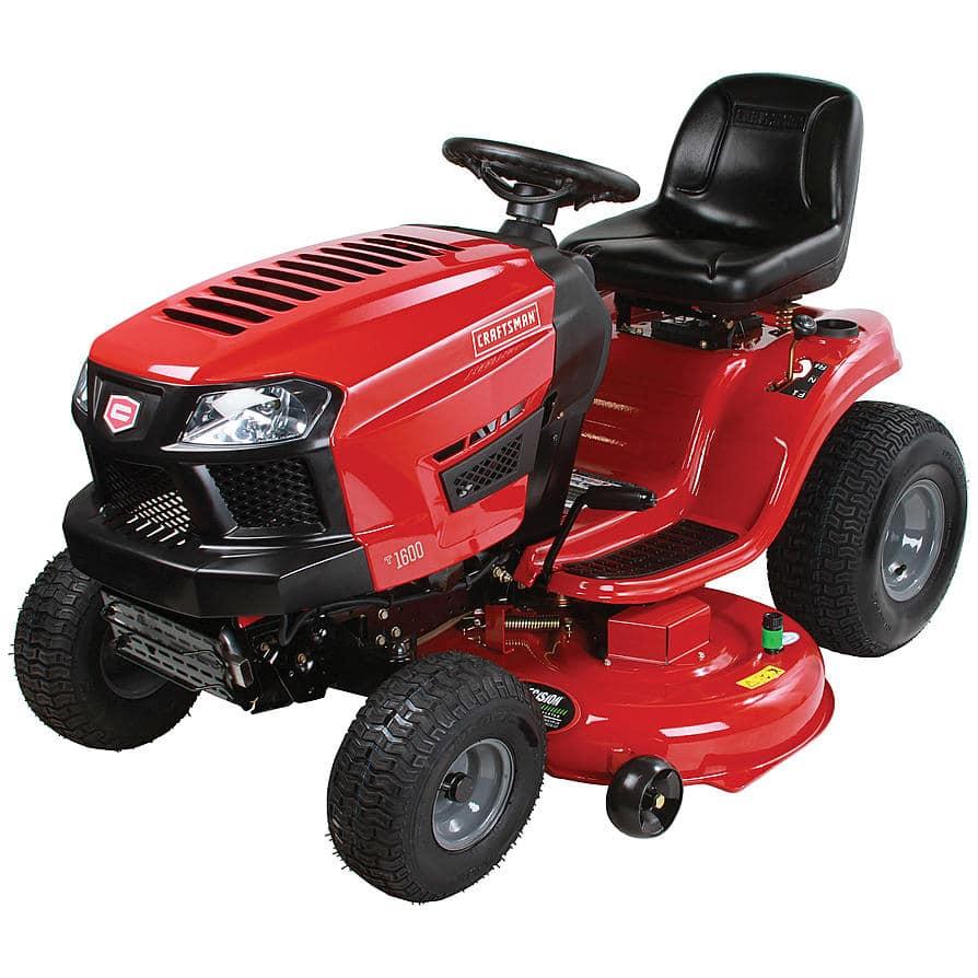 Craftsman Yard Tractor Parts : Craftsman lawn tractor line up