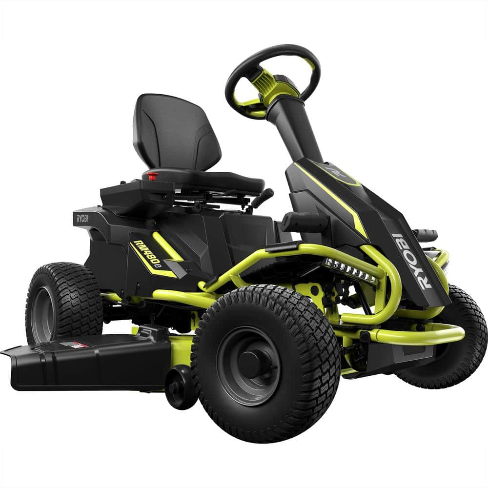 Electric Lawn Mower Sale Is Owning A Ryobi Rm480e Electric Riding Mower Cost Effective