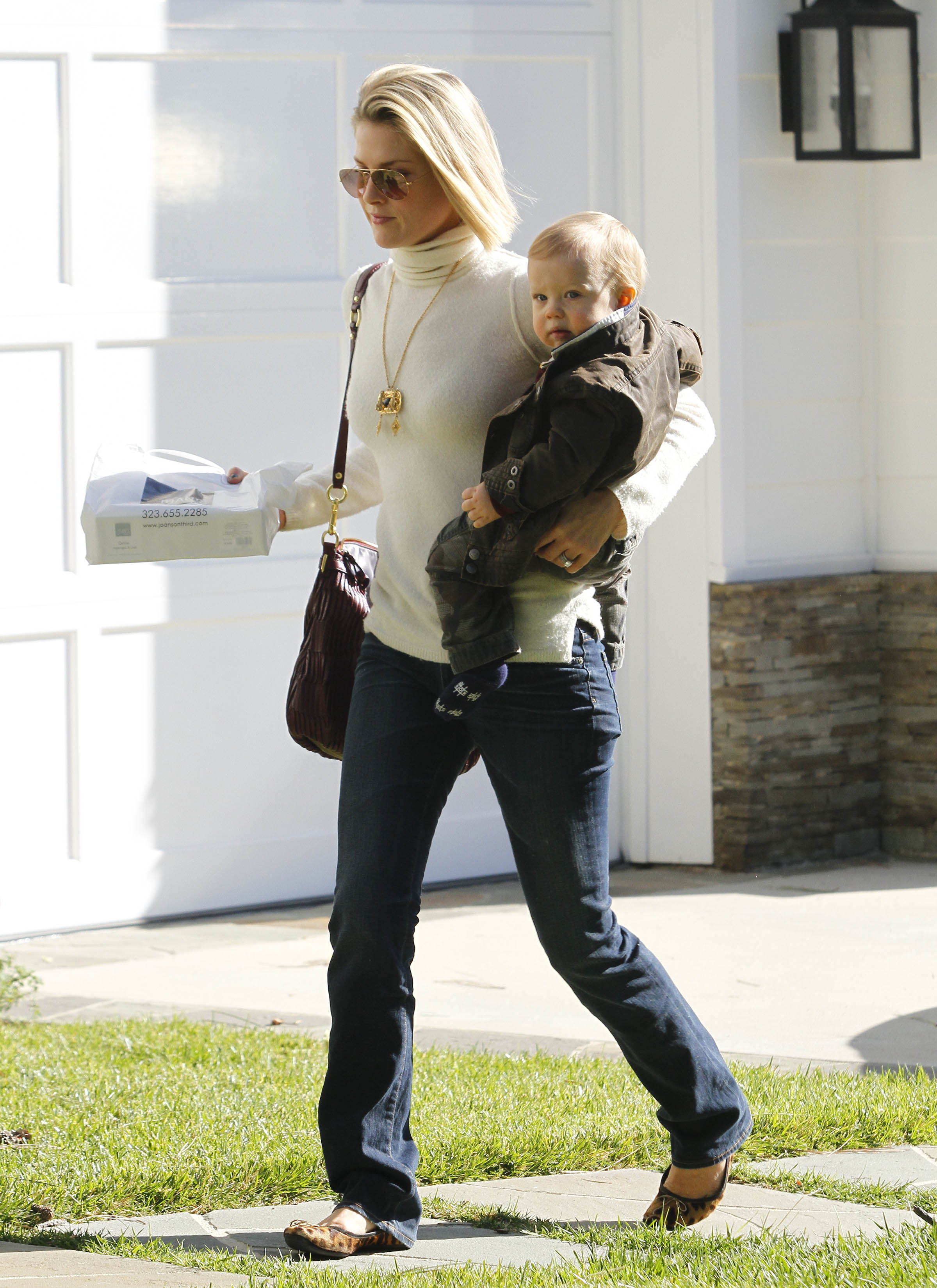 Baby Boy Strollers And Car Seats Ali Larter 39;s Baby Teddy 39;s Turning One Today 39;s Parent