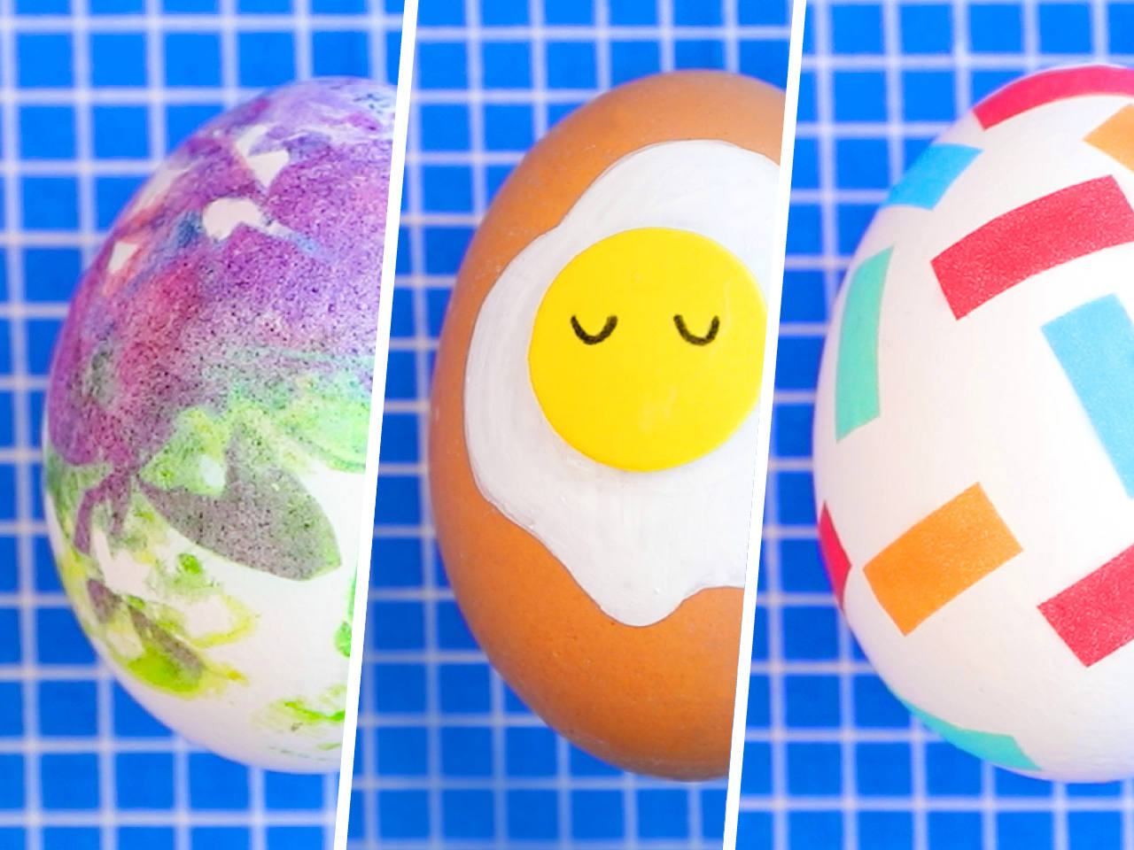 Easter Egg 6 Mess Free Easter Egg Decorating Ideas
