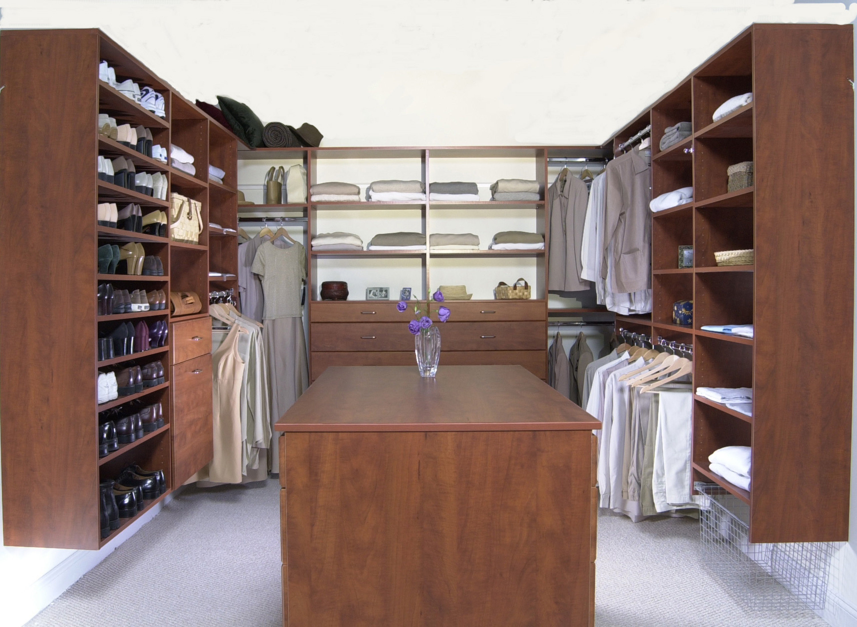 Walkin Closet Cabinets Custom Closets