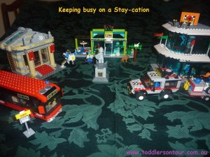 Building Lego City at home