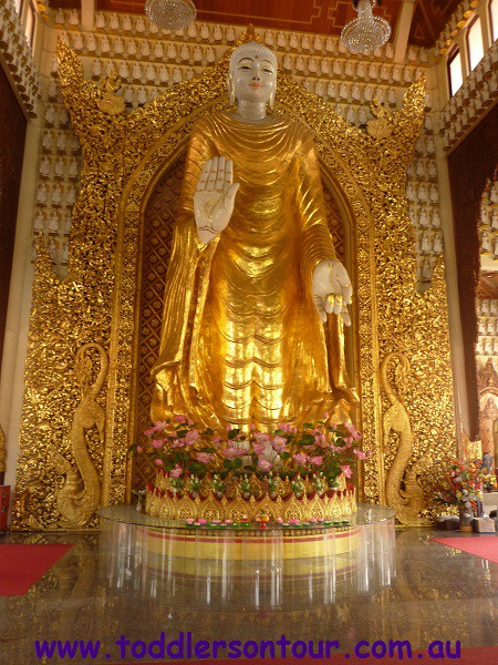Penang Chinatown - Dharmikarama Burmese Temple