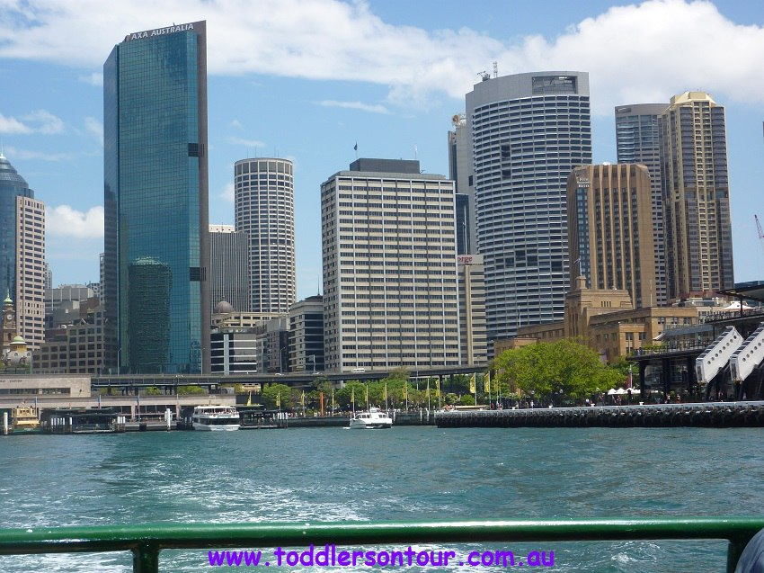 sightseeing Sydney harbour - circular quay