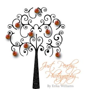 Just Peachy photography logo