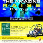 Amazing Raise 4 Campers Event – Sunday, August 26