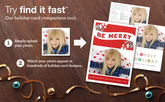 Minted - Holiday Card comparison tool - Toddling Around Chicagoland