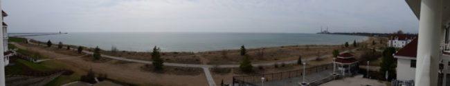 Blue Harbor Resort - balcony view panorama