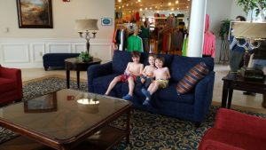 Blue Harbor Resort - lobby