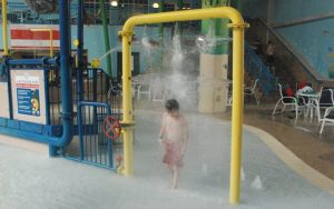 Blue Harbor Resort - waterpark - car wash splash