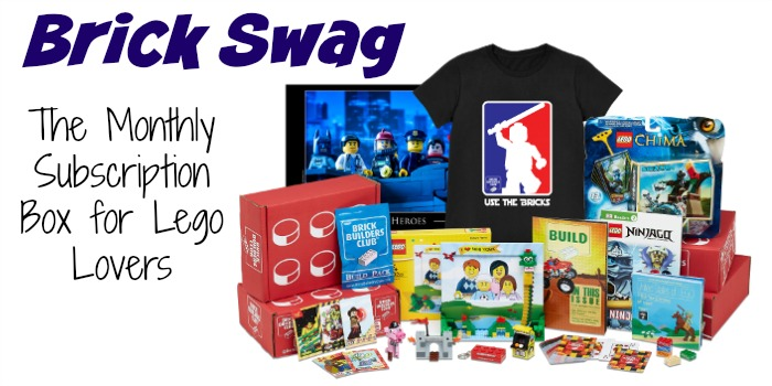 Brick Swag: The Monthly Subscription Box for LEGO Lovers [plus discount code]