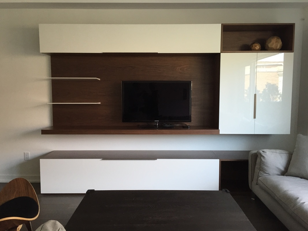 Modern Wall Units Ultra Modern Wall Unit