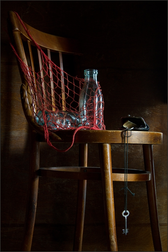 Soviet milk bottle
